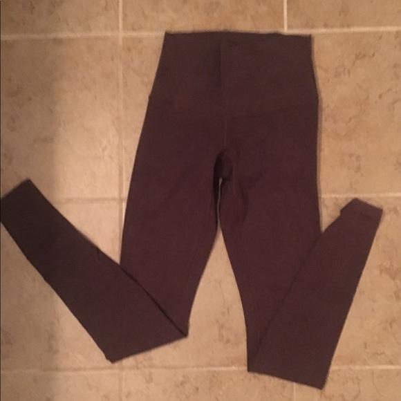 82463b566b lululemon athletica Pants | Lululemon Brown Leggings | Poshmark